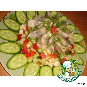 Подсолнух салат с вялеными помидорами