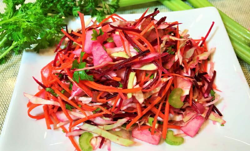 10 вкуснейших рецептов салат щетка