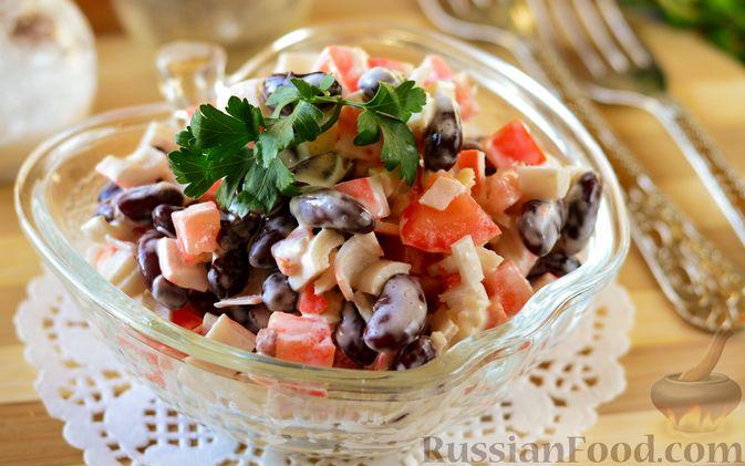 Салат с крабовыми палочками и помидорами 10 лучших рецептов