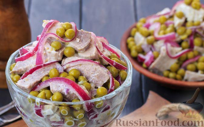 Салаты со свининой 10 лучших рецептов