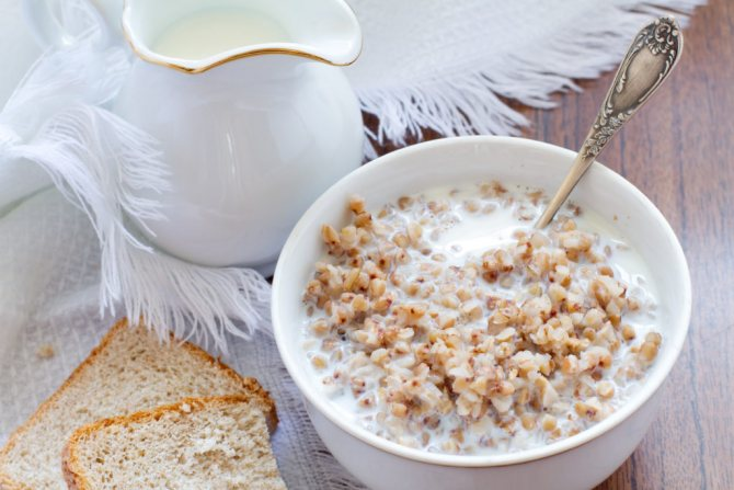 Топ 10 рецептов (186.5 ккал) гречки с кефиром для похудения вкусные диетические низкокалорийные блюда с БЖУ