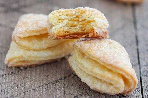Рецепт творожное печенье треугольники с сахаром пошаговые инструкции с фото и видео