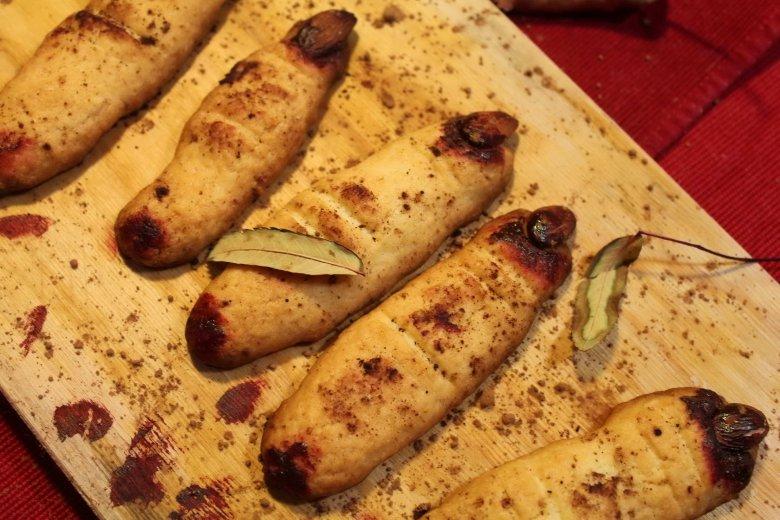 Печенье ведьмины пальчики рецепт из песочного теста на хеллоуин с фото