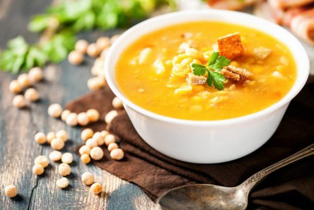 Как приготовить вкусный гороховый суп из курицы рецепт с пошаговыми фото и видео в домашних условиях