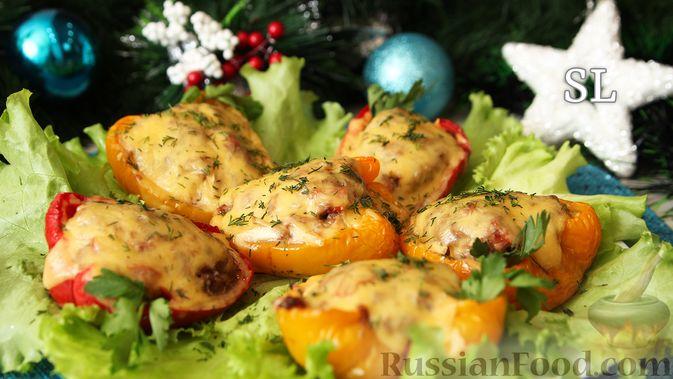 Голубцы из болгарского перца