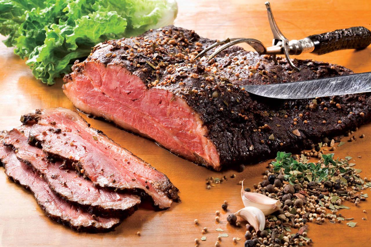Пастрома из говядины рецепт