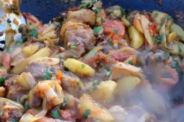Оджахури по-грузински рецепт с фото пошагово