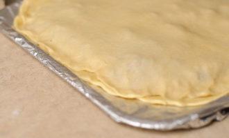 Мясной пирог с картошкой и говядиной (392,5 ккал)