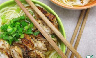 Рецепт как приготовить рамен с курицей