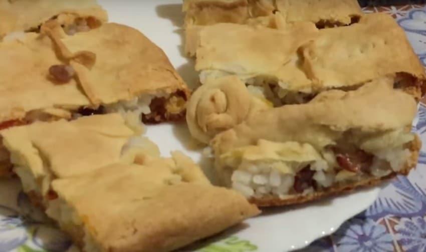 Татарский балиш с мясом и картошкой в духовке пошаговый рецепт приготовления в домашних условиях
