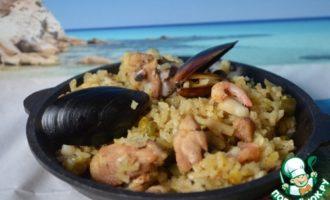 Паэлья рецепт классический с курицей и морепродуктами