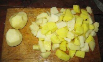 Тушеные бараньи ребрышки с картошкой