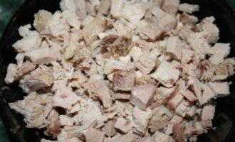 Жульен со свининой и грибами