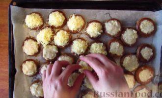 Бублики с фаршем в духовке