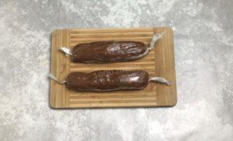 Колбаска Mинутка из печенья