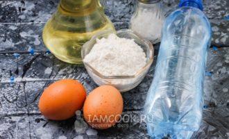 Блины на газированной минеральной воде рецепт