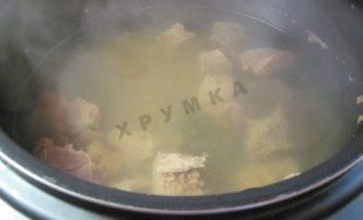 Сборная мясная солянка в мультиварке