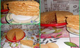 Торт медовик рецепт классический советского времени